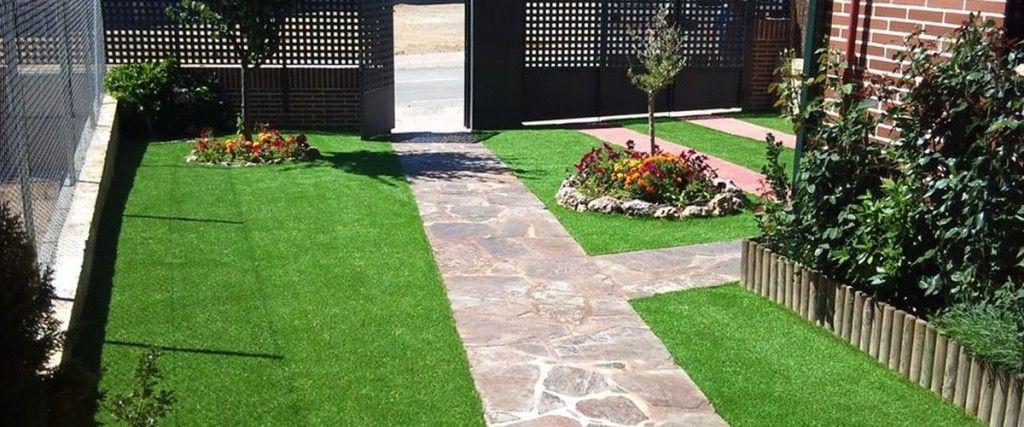 Cesped y plantas para jardines
